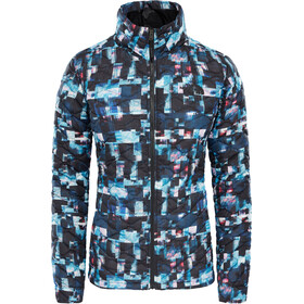 The North Face Thermoball Veste Femme, multi glitch print